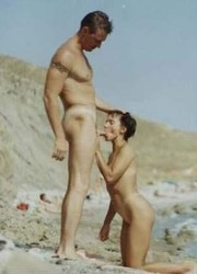 A nude lady at the Euronat Image 1