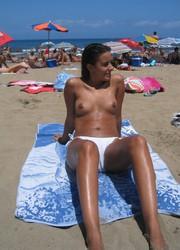 A hot slut posing at theCosta Natura Image 10