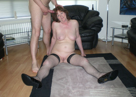A mom couple in blowjob pictures Image 3
