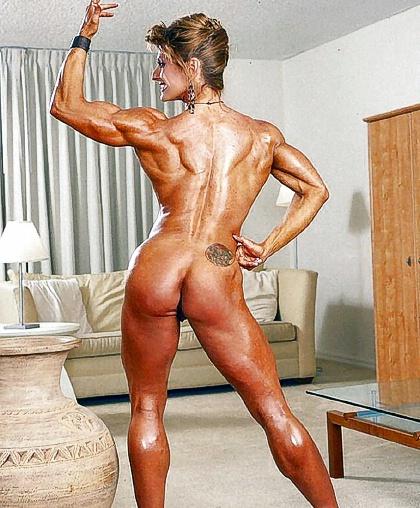 мускулистая задница