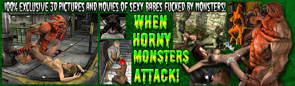 When Horny Monsters Attack