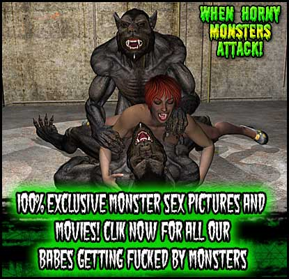 Click NOW for when Horny Monsters Attack!
