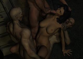 evil monsters in 3d