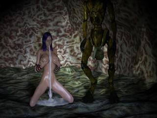 3d evil monsters