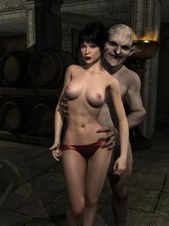 evil monsters porn