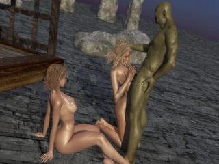 3d evil monsters sex