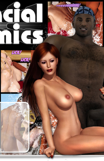 Interracial 3D Comics