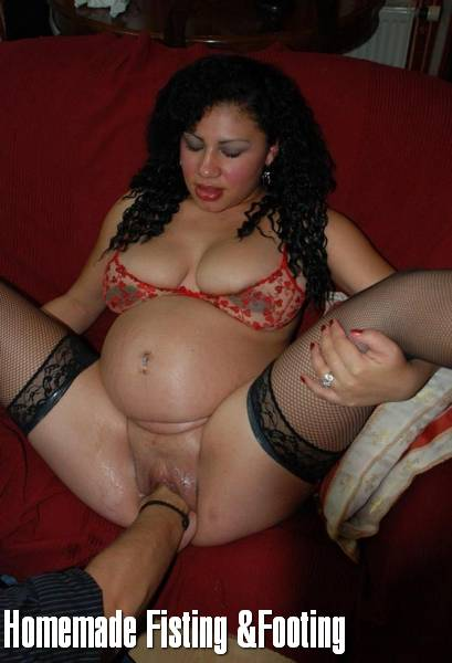 Pregnant fisting tube