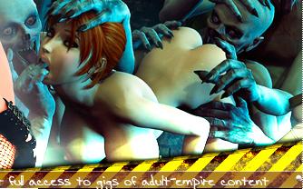 3D porn monsters