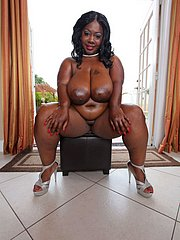 sexy big ebony