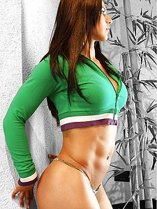 bodybuilder female