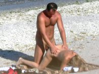 Hidden sex on beach