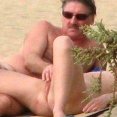 spy on nudists beach