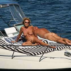 Nude mature women at nudist beaches