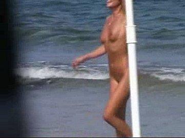 Beach-spy-eye - video section - movie example