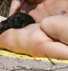 nude beach spy woman nudist naked