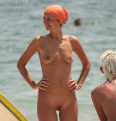 beach nudist naked girl voyeur spy