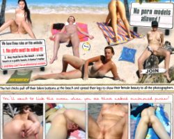 Nude amateurs beach