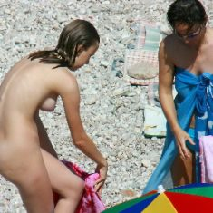 Nude beach photo for voyeur