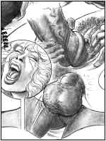 Pain Art: the best of crule porn comics