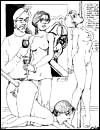 Free samples of various brutal porn cartoons from Girls Eater