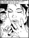 Cruel adult comics