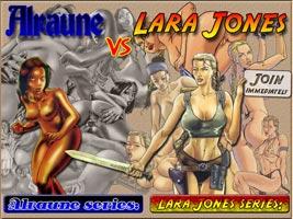Alraune vs Lara Jones