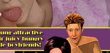 Naughty 3D sluts