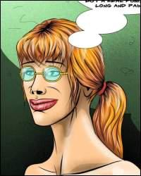 Pain comics: SM cartoons and cruel porn comics