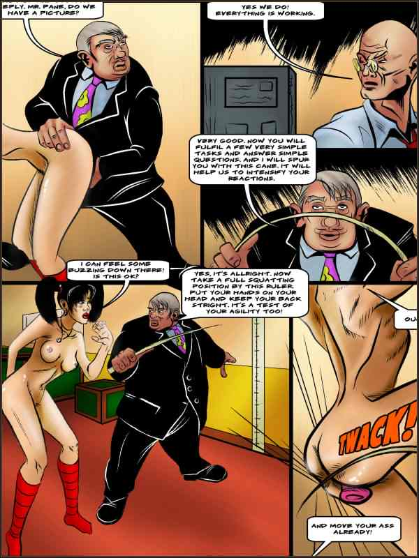 Sample picture from this BDSM comics