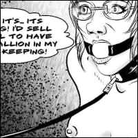 Free samples from BDSM comics `A New Secretary`, ep 2