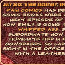 BDSM comics `A New Secretary`, episode 2
