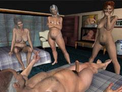 mature lesbians making out