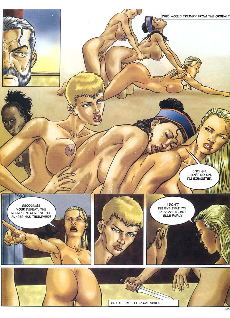 Рисованные порнокомиксы на русском амазонка