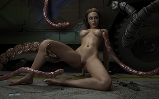 3D Monster porn