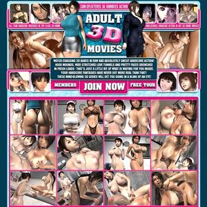exclusive 3D porn