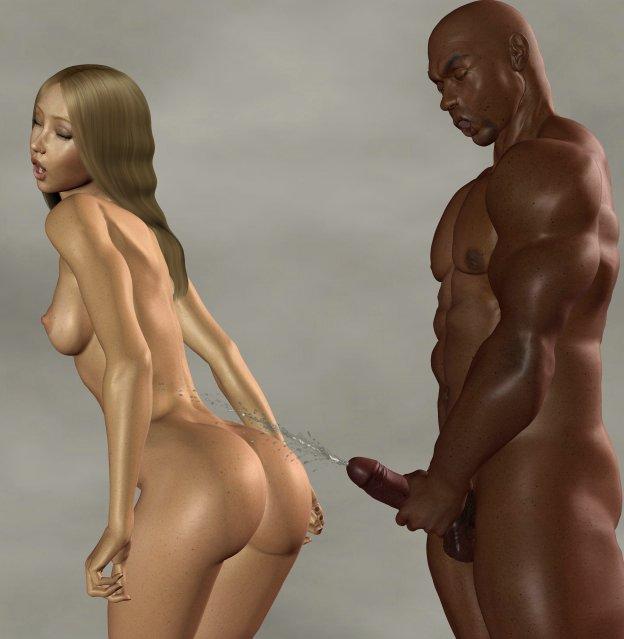 3d interracial porn