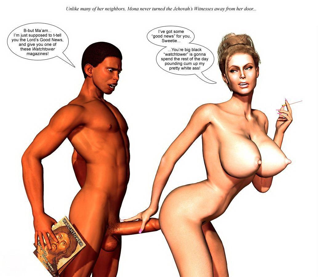 3d interracial sex