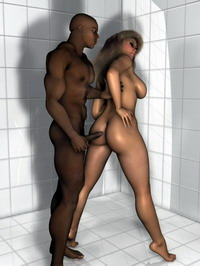 3d interracial love