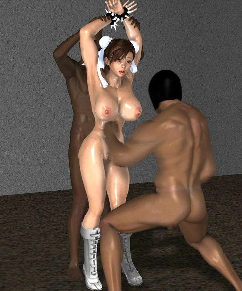 3d interracial porn
