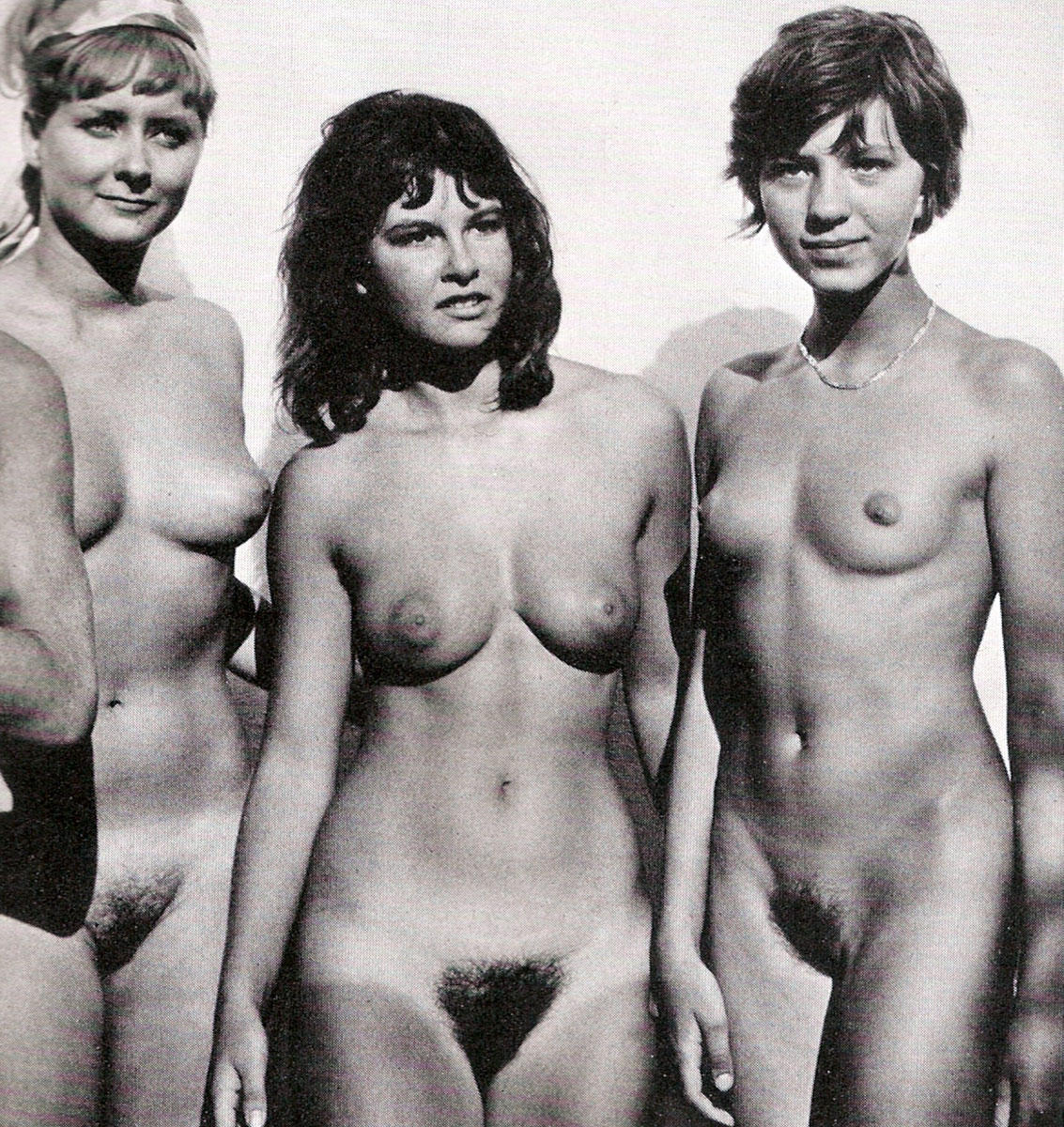 from Jude german women nude in black and white