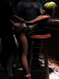 Extreme 3D BDSM