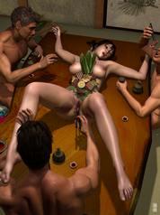 group porn comics