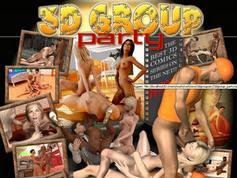 3d group sex