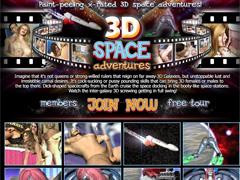 Interracial 3D porn