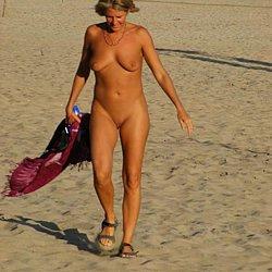 Nude mature women at nudist beaches