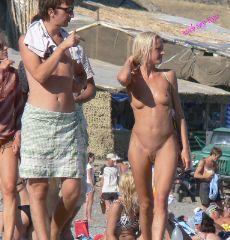 beach nudist naked girl voyeur spy