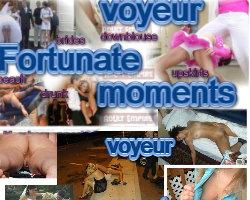 Fortunate Voyeur Moments