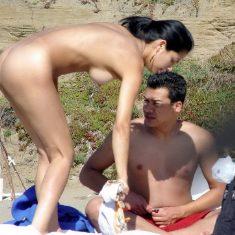 You are the voyeur on nude beach now!