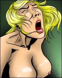 Pain comics: BDSM art in full colors